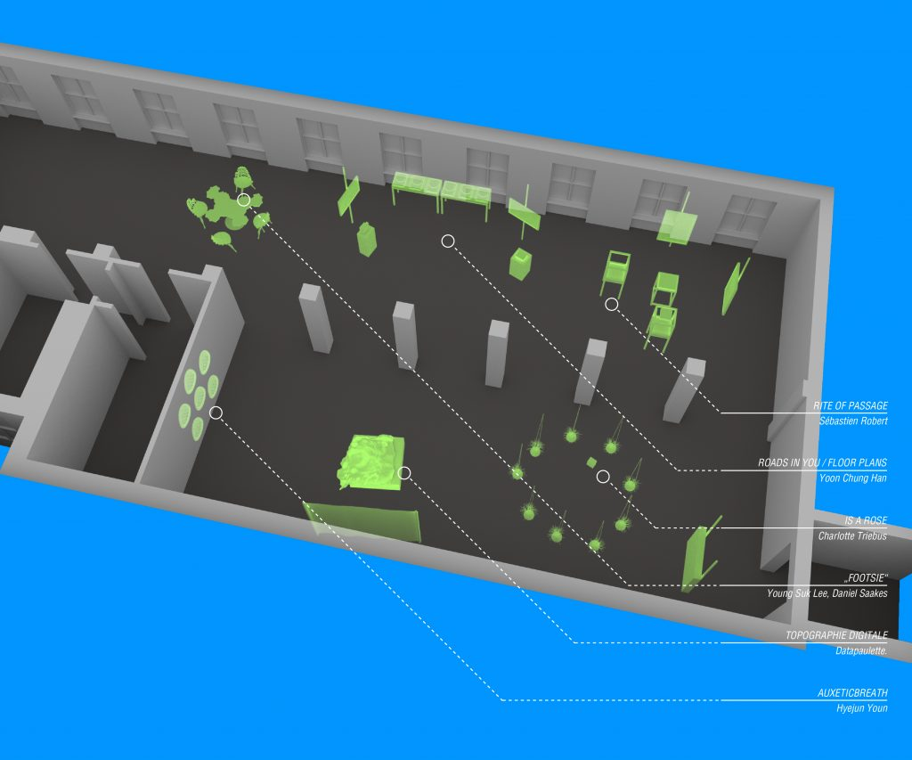 3D map of the Art Space 5020